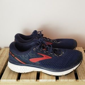 Brooks Ghost 11 Shoes sz 10 Medium (B)